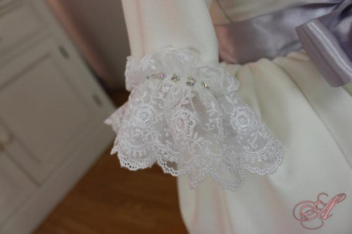 children s dress for ceremonies in lace etsy