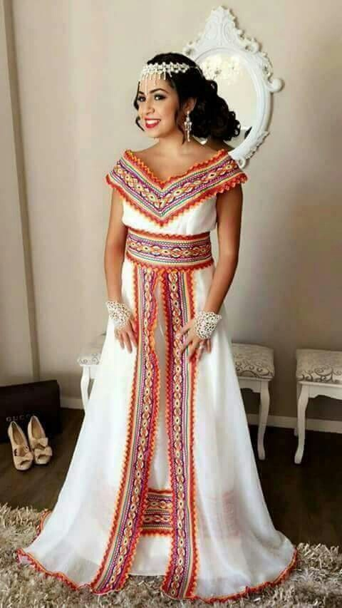 image about robe kabyle in mariage by inès on we heart it