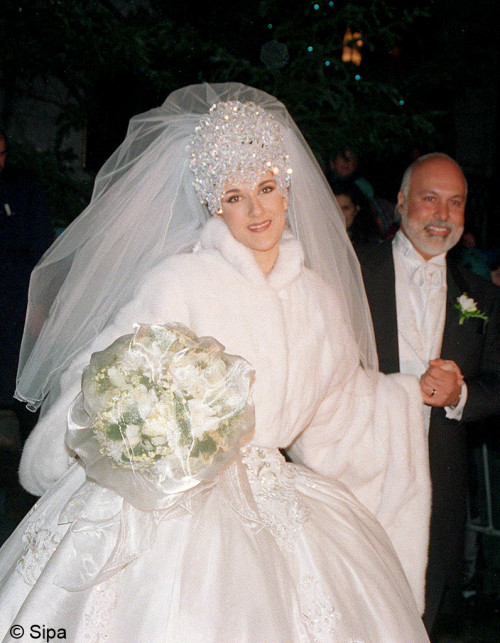 MONTREAL:MARIAGE CELINE DION