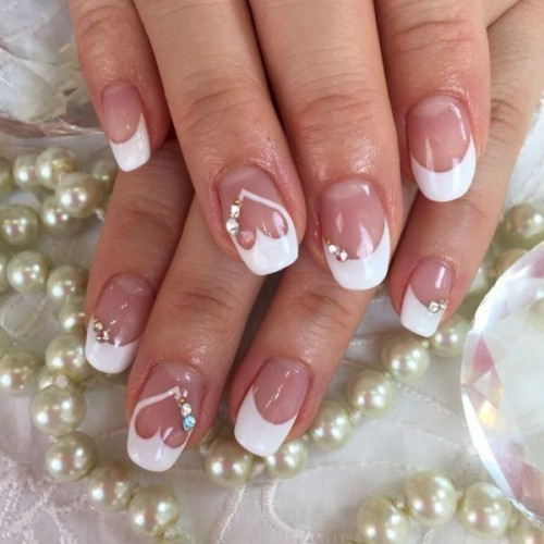 50 lovely valentine s day nail art ideas 2020 pouted wedding nail art design wedding nails wedding n