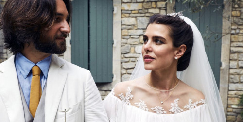 charlotte casiraghi grace kelly s granddaughter has 2nd wedding