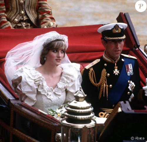 mariage diana et charles