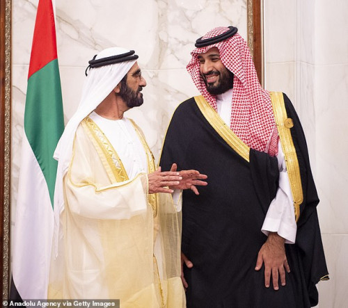 princess lined up for forced marriage to crown prince mohammad bin salman court hears daily mail onl